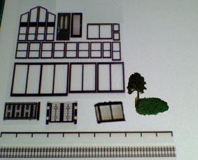 簡単建築模型完成 サイズ50分の